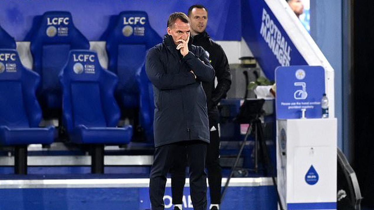 Brendan Rodgers calls for calm and insists Leicester are 'in a great position still' in the top-four battle, despite their dismal Newcastle defeat and a daunting Premier League run-in to come