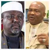 Rochas Okorocha Blows Hot, Reveals The Reason Governor Hope Uzodinma Is Attacking Him.