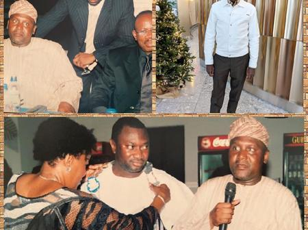Reactions As Femi Otedola Shares Throwback Photos With Dangote When He Was The Largest Ship Owner