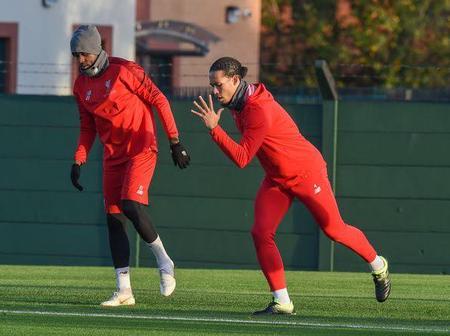 Liverpool's Virgil Van Dijk is Back to Recovery Training