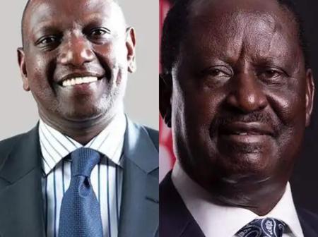 Here are Schools Raila Odinga and Deputy Ruto Attended