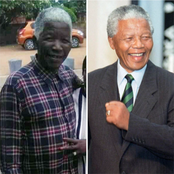 Here's The Ghanaian Man Who People Refer to As Nelson Mandela's Twin Brother Because Of This Feature