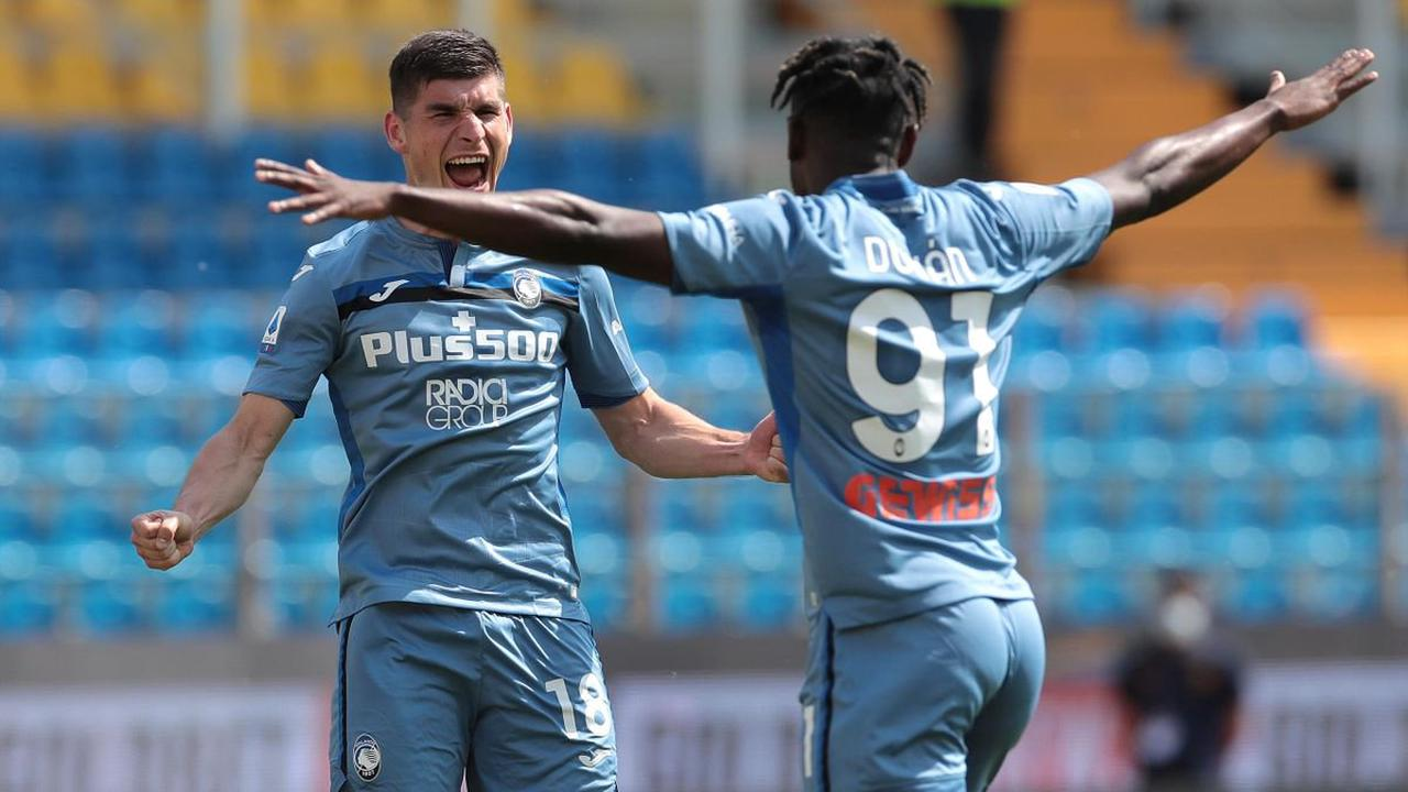 Luis Muriel shines again to fire Atalanta back up to second in Serie A after thrashing of Parma