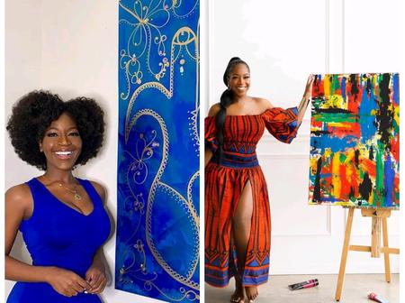 Checkout Recent Pictures Of Timaya's 3rd Babymama Who Is A Painter