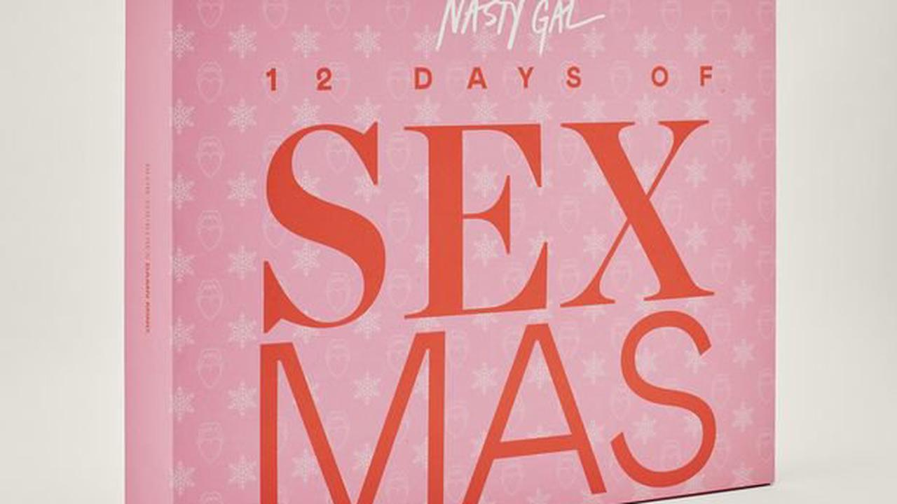 Nasty Gal's new advent calendar includes chocolate edible body paint and more