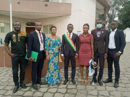 Législatives 2021 : le Président du Parlement des Jeunes de Côte d'Ivoire est candidat à Béoumi