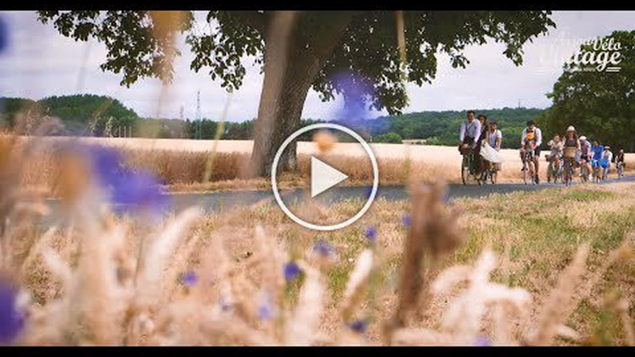 VIDEO. Anjou Vélo Vintage: les inscriptions bientôt ouvertes pour le festival de vélo rétro