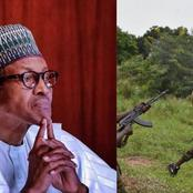 See What President Muhammadu Buhari Orders Security Operative To Do To Anyone Seen With