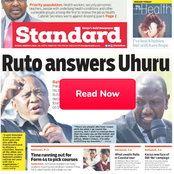 Candidates May Miss Out on Courses, Ruto's Answer to Uhuru in Newspapers Today