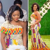 See 20 Beautiful Kente Styles For Engagement And Wedding That Will Make You Stand Out Special