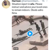 Orlu- Trending on Twitter, Following Soldiers Clash with the ESN at Orlu LGA.