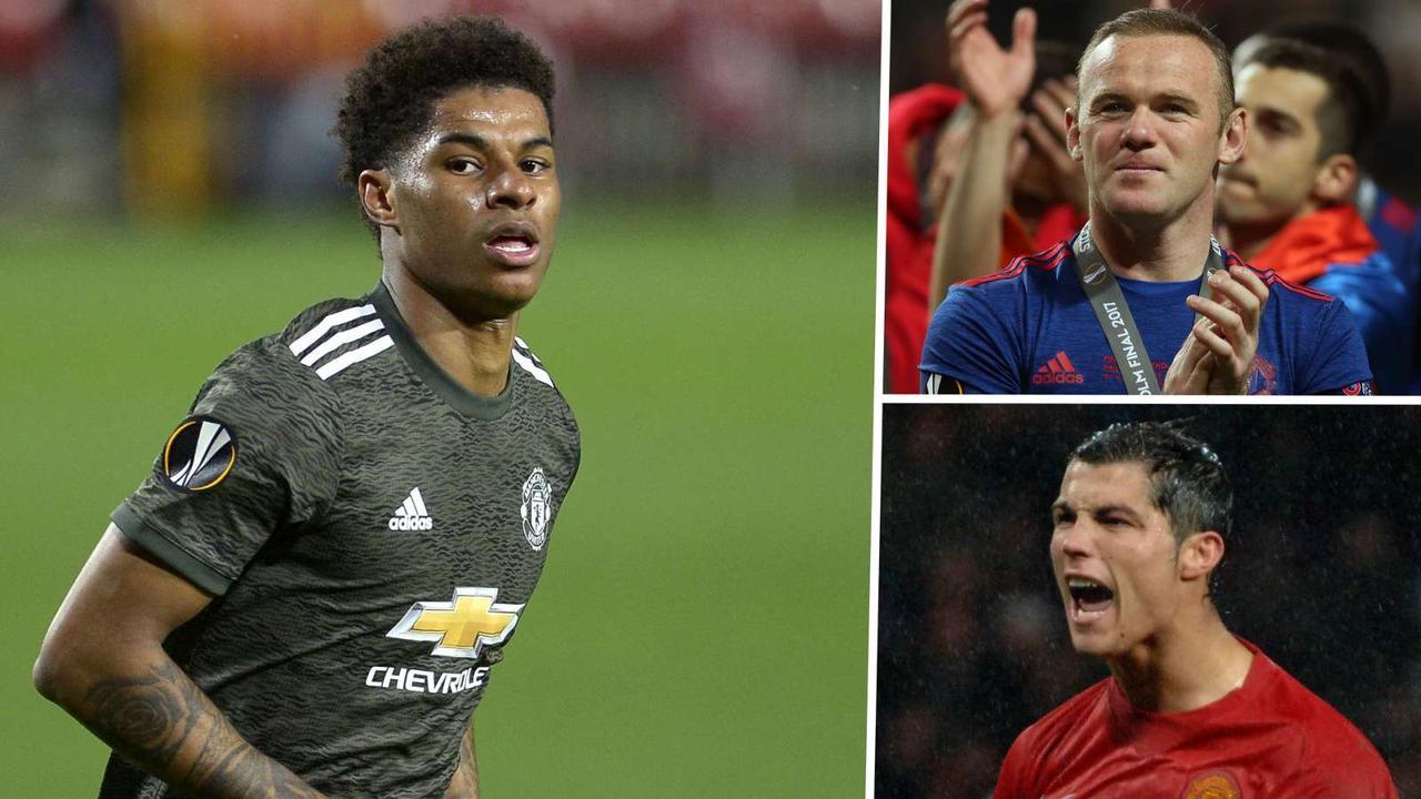 Rashford emulating Rooney and Ronaldo for Man Utd - but will he ever get a rest? | Goal.com