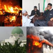 There Was No Fire Outbreak At Aso Villa, See What Buhari's Aide Said About Last Night Incident