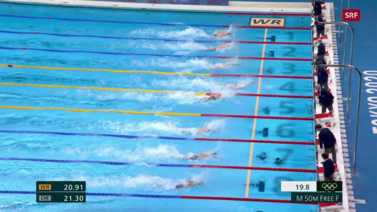 Entscheidungen im Schwimmen - Dressel macht sich zum Schwimm-«König» von Tokio