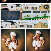 Popular Instagram Comedian, Edo Pikin Dedicates Multi-Million Mansion To His Son