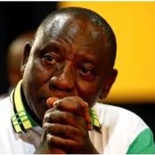 President Cyril Ramaphosa and ANC are in big debt.