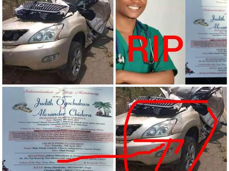 Sad End: This Nigerian Doctor Is The Only Son Of His Father But He Died 2 Months To His Wedding