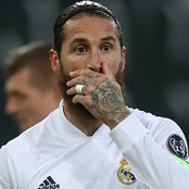 Sergio Ramos tests positive for Covid-19 ahead of Real Madrid's Champions League second leg.