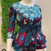 Latest Ankara Blouse Designs For Elegant Wonen