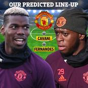 Manchester United Strongest 4:2:1:3 Line Up Against Liverpool. Wan Bissaka And Pogba To Start