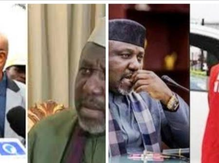 Breaking News: Rochas Okorocha, A Former Governor of Imo State Has Been Arrested.