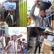 Remembering Iloduba — The Man Who Hawked Pure Water Wearing Suit In The Streets Of Lagos