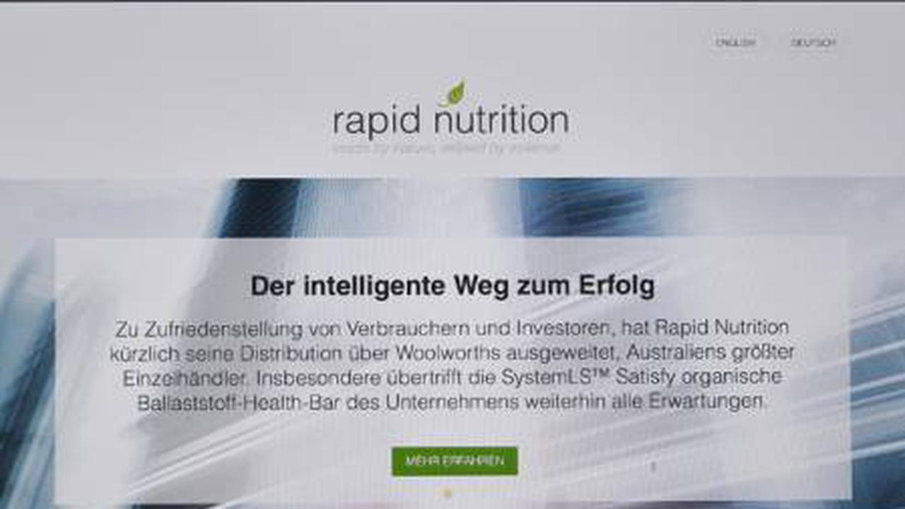 Rapid Nutrition signe un Contrat de Liquidité avec l'un des Plus Grands Courtiers Interprofessionnels