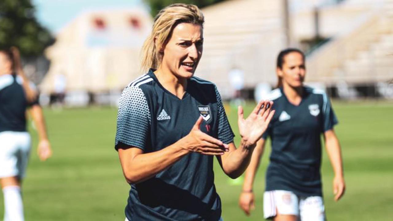 Les titulaires des féminines des Girondins face à l'Eintracht