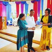Samidoh Attends Church With His Wife After Drama With Karen Nyamu(Photo)