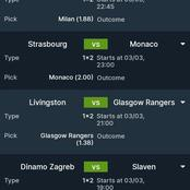 Must Win Multi bets With GG, Over 2.5 Goals And Correct Score To Rely On Tonight