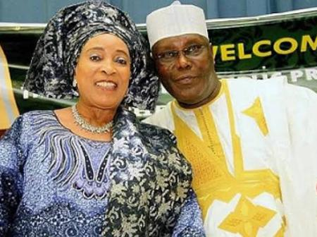 Meet The Yoruba Wife of Atiku Who Was Born a Christian but Converted to Islam After Marrying Him