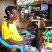 Meet Steve Biko the Form three student who built his own Radio station