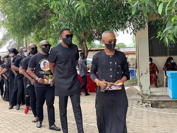 8364c2d5669e202e3e8ead8942c65ea6?quality=uhq&resize=720 - Management & Staff of Despite Media arrives at the one week observation Of Late Nana Adjei Sikapa(Photos)