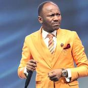 See What Apostle Suleman Said On Twitter Concerning What Happened To Protesters.