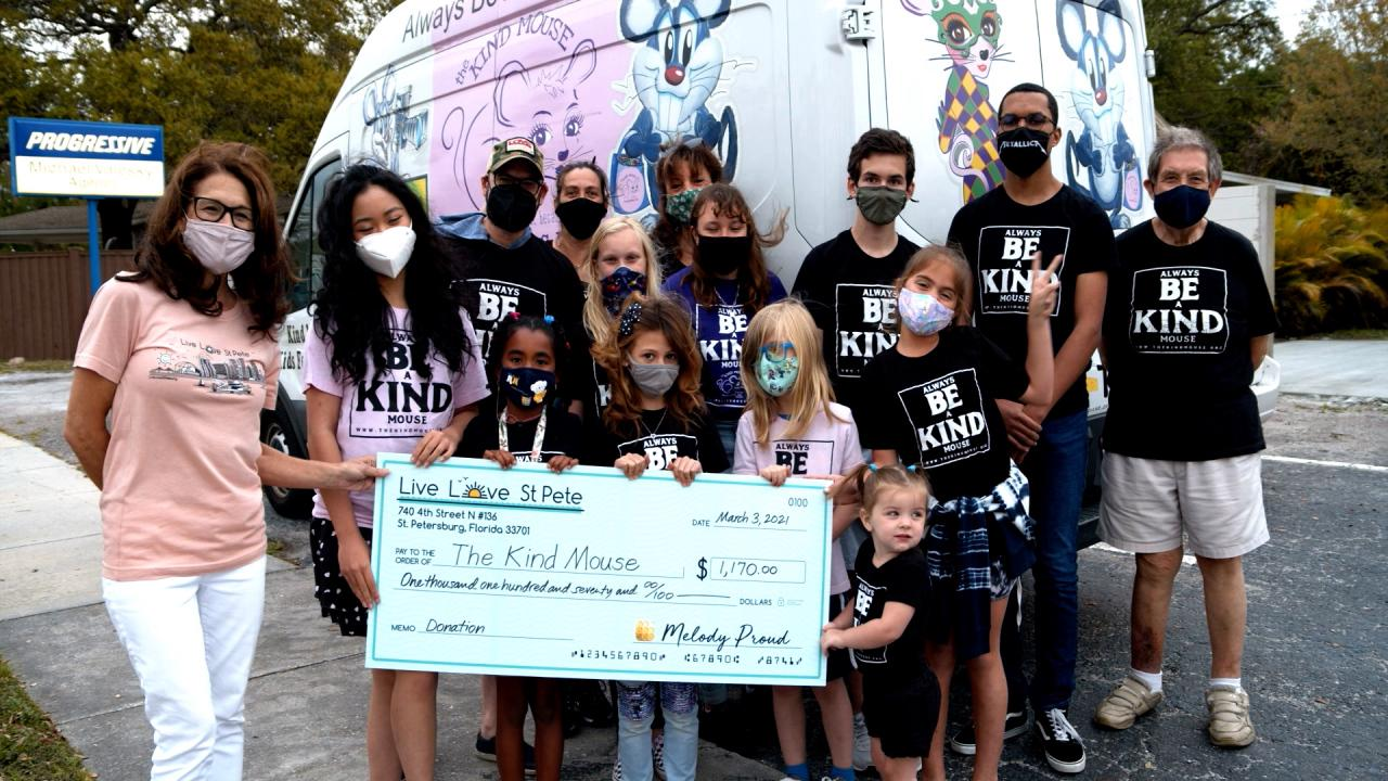 Live Love St. Pete makes $1K+ donation to local nonprofit from T-shirt sales