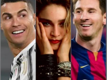 Between Madonna, Ronaldo And Lionel Messi Who Is Richer?