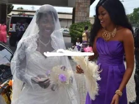 Remember The Ghanaian Actress Who Was Mercy Johnson's Chief Bridesmaid 9 years Ago? See Her Recent Pics