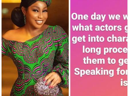 Ken Erics, Uche Jombo & others react as Rita Dominic shares Mind Blowing message online.