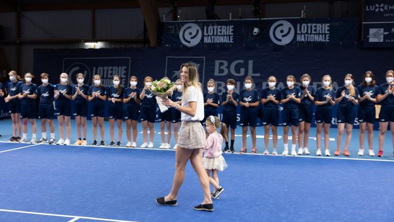 WTA - Luxembourg - Mandy Minella a eu droit à une magnifique cérémonie