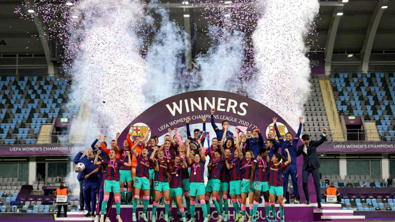 Barcelona stun Chelsea with early blitz to win Women's Champions League final