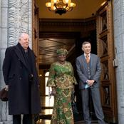 Reactions As Dr. Ngozi Okonjo Iweala Rocks Ankara On Her First Day Of Work As DG Of WTO