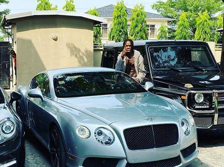 Check out some photos of Nigerian entertainers flaunting their exotic cars