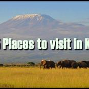 Top 4 Places You Should Visit Or Tour In Kenya After The Corona Virus Pandemic Is Over.