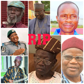 7 Prominent Nigerians Who Died In February 2021 (Pictures)
