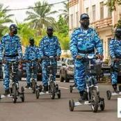 la police municipale du Plateau a été équipée d'engins de déplacement sophistiqués