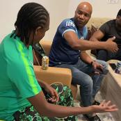 Video: Kanu Nwankwo Hangs Out With Football Legends Okocha, Amokachi And Others