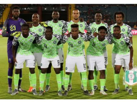 Checkout Nigerian's Position In FIFA World Ranking For 2021