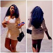 Chioma Dresses Up As She Steps Out With Her Friends