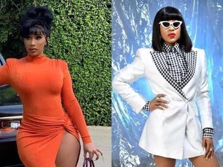 Check Out Erica's Reaction After Cardi B Commented On Her Fashion Dressing (Comment)
