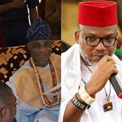 Today's Headlines: Prominent Traditional Ruler Slumps And Dies At Birthday Party, Benue Government Warns Nnamdi Kanu